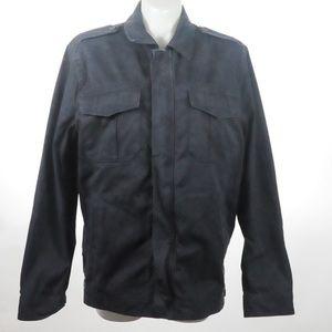 Gap - Black Jean Coat - Size XL
